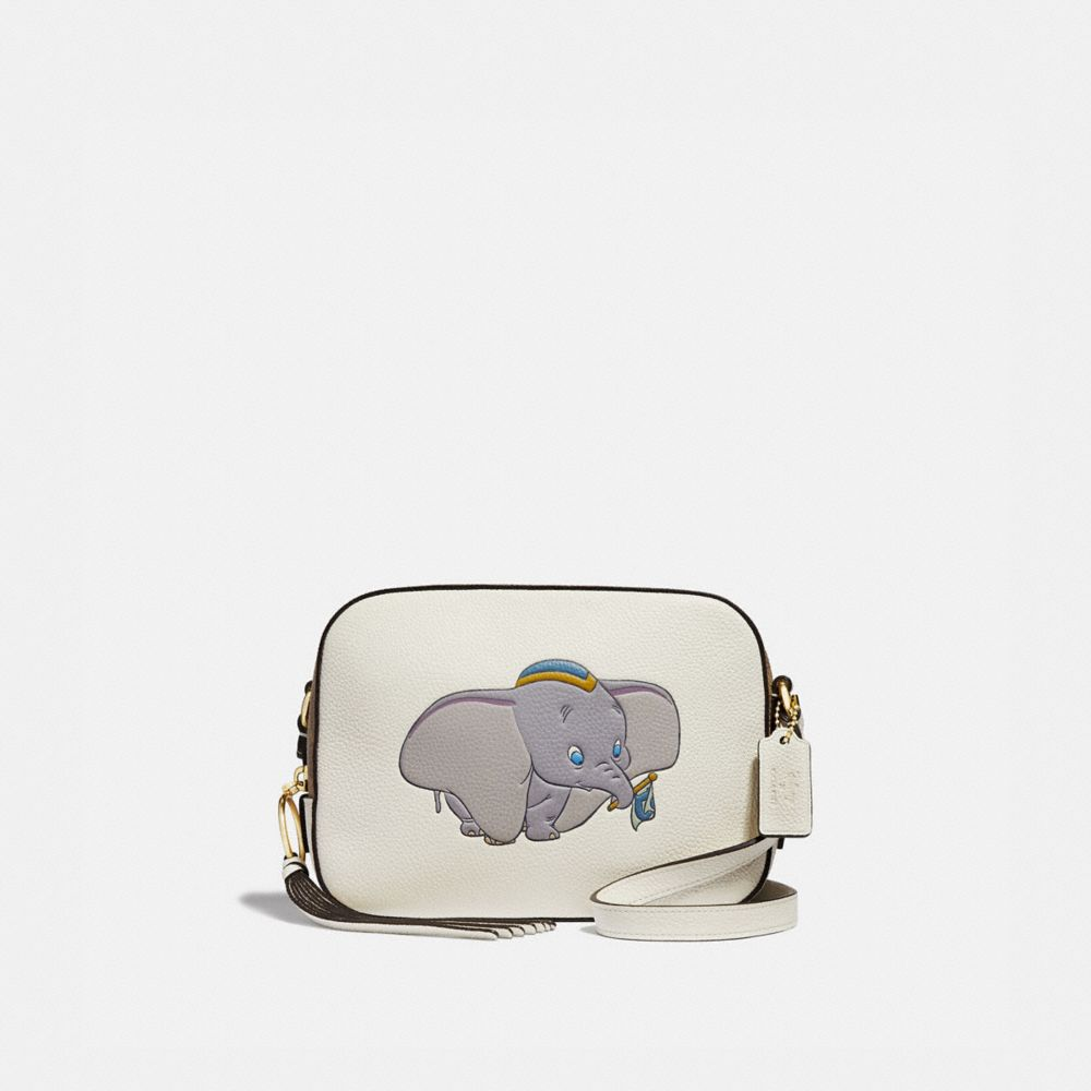 DISNEY X COACH CAMERA BAG WITH DUMBO