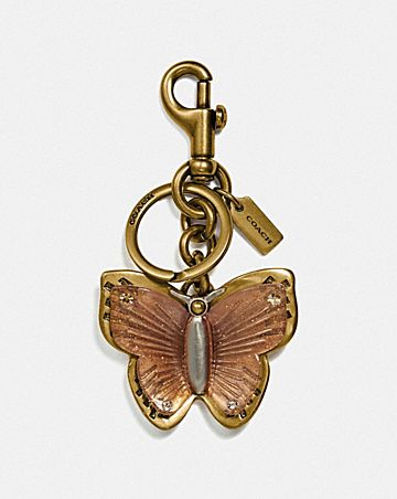 BUTTERFLY BAG CHARM