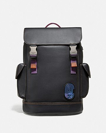 1703b00f14 RIVINGTON BACKPACK WITH COACH PATCH