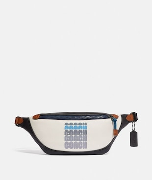 RIVINGTON BELT BAG WITH COACH PRINT