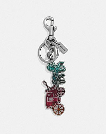 HORSE AND CARRIAGE BAG CHARM