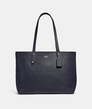CENTRAL TOTE WITH ZIP