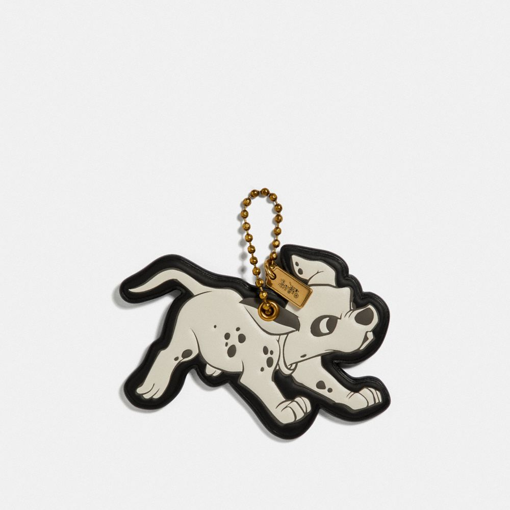 DISNEY X COACH DALMATIAN BAG CHARM