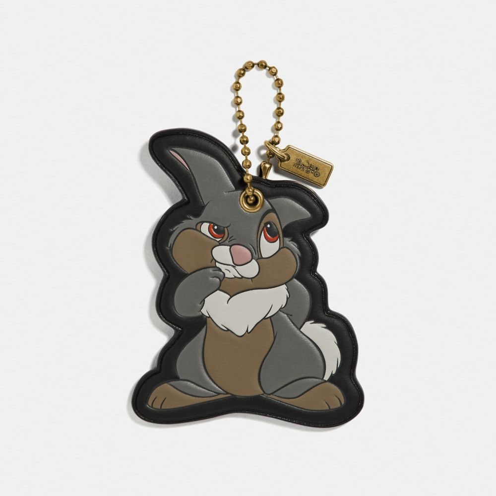 DISNEY X COACH THUMPER BAG CHARM