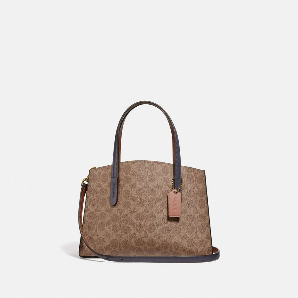 CHARLIE CARRYALL 28 IN COLORBLOCK SIGNATURE CANVAS