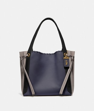 SAC HOBO HARMONY COLOR BLOCK AVEC COUTURES WHIPSTITCH