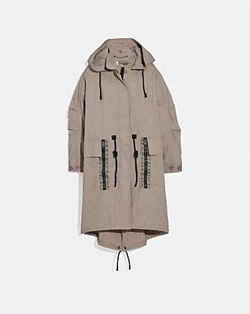 MILITARY COAT WITH HOOD
