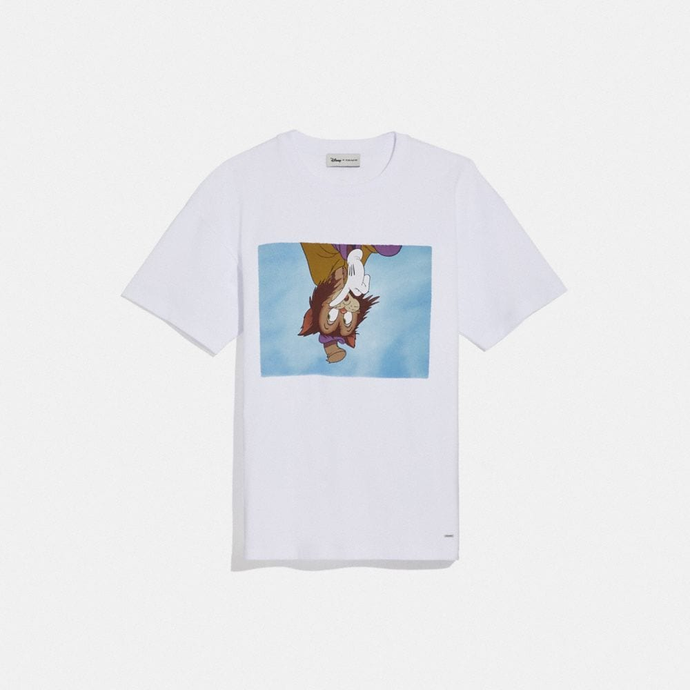 DISNEY X COACH GIDEON CAT OVERSIZED T-SHIRT