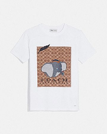 DISNEY X COACH DUMBO SIGNATURE T-SHIRT c8842e37976d