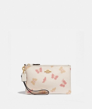 SMALL WRISTLET WITH BUTTERFLY PRINT