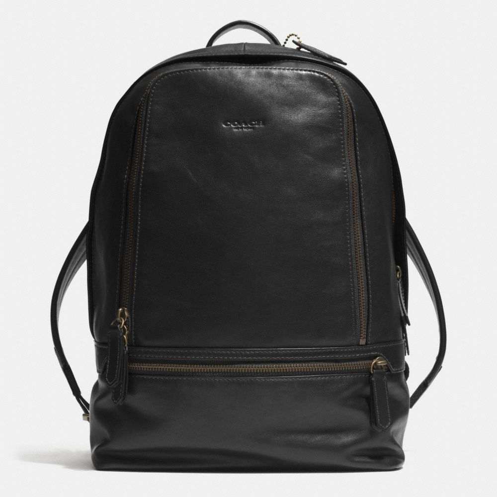 BLEECKER TRAVELER BACKPACK IN LEATHER