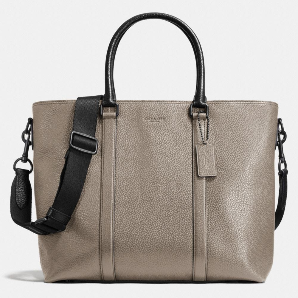 METROPOLITAN TOTE IN PEBBLE LEATHER