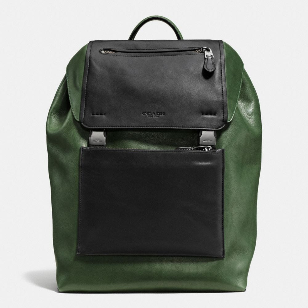 MANHATTAN BACKPACK IN LEATHER