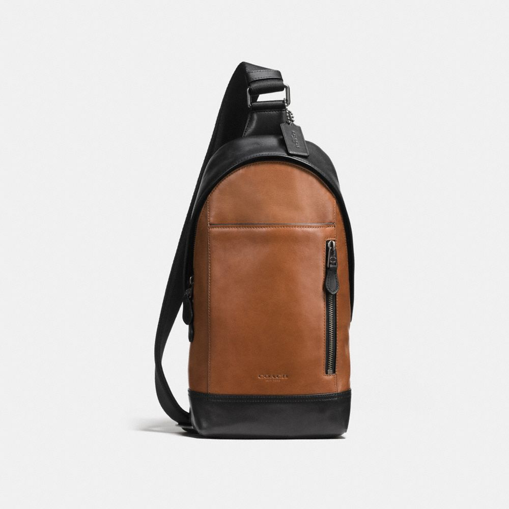 MANHATTAN SLING PACK IN SPORT CALF LEATHER