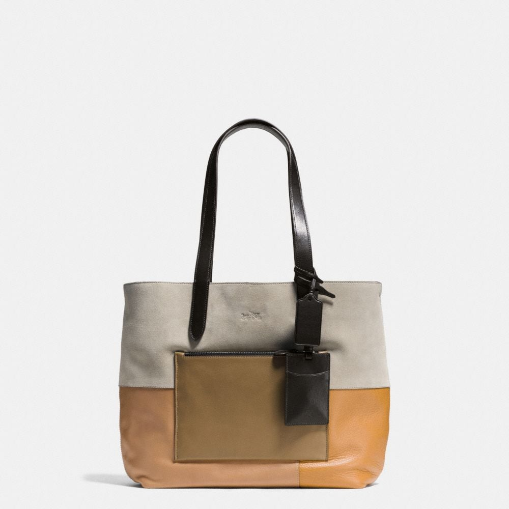 SMALL TOTE IN PATCHWORK LEATHER