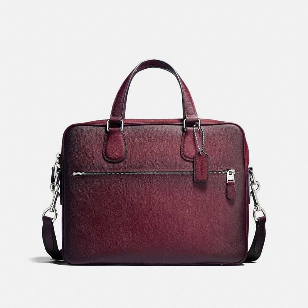 HUDSON 5 BAG IN BURNISHED CROSSGRAIN LEATHER