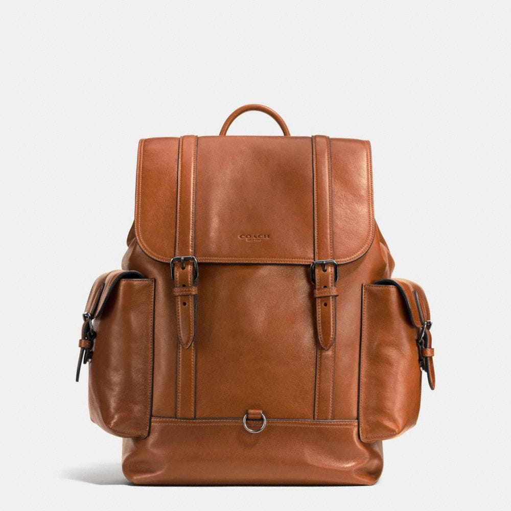 METROPOLITAN RUCKSACK IN SPORT CALF LEATHER
