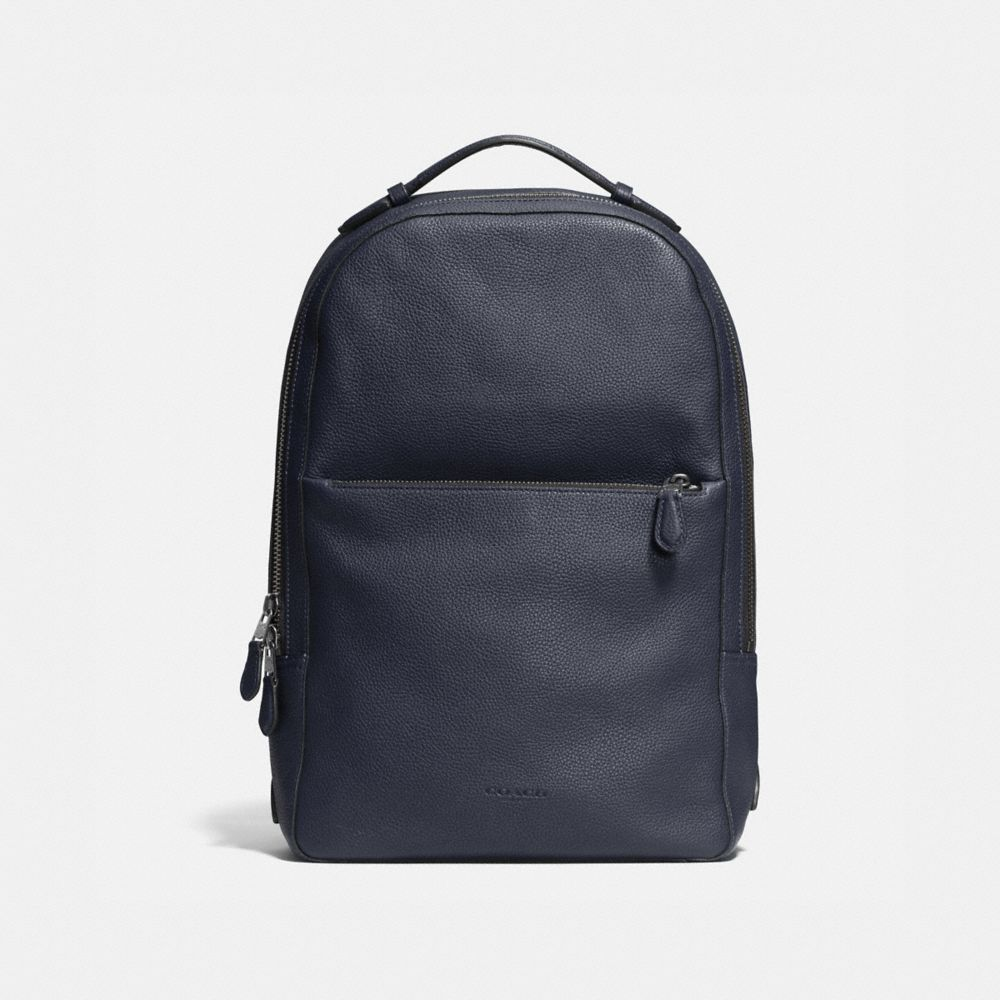 METROPOLITAN SOFT BACKPACK IN REFINED PEBBLE LEATHER