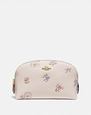 COSMETIC CASE 17 WITH MEADOW PRAIRIE PRINT