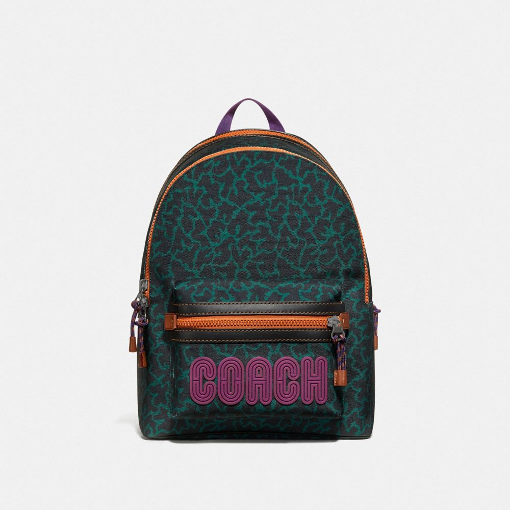 ACADEMY BACKPACK WITH ANIMAL GRAPHIC PRINT