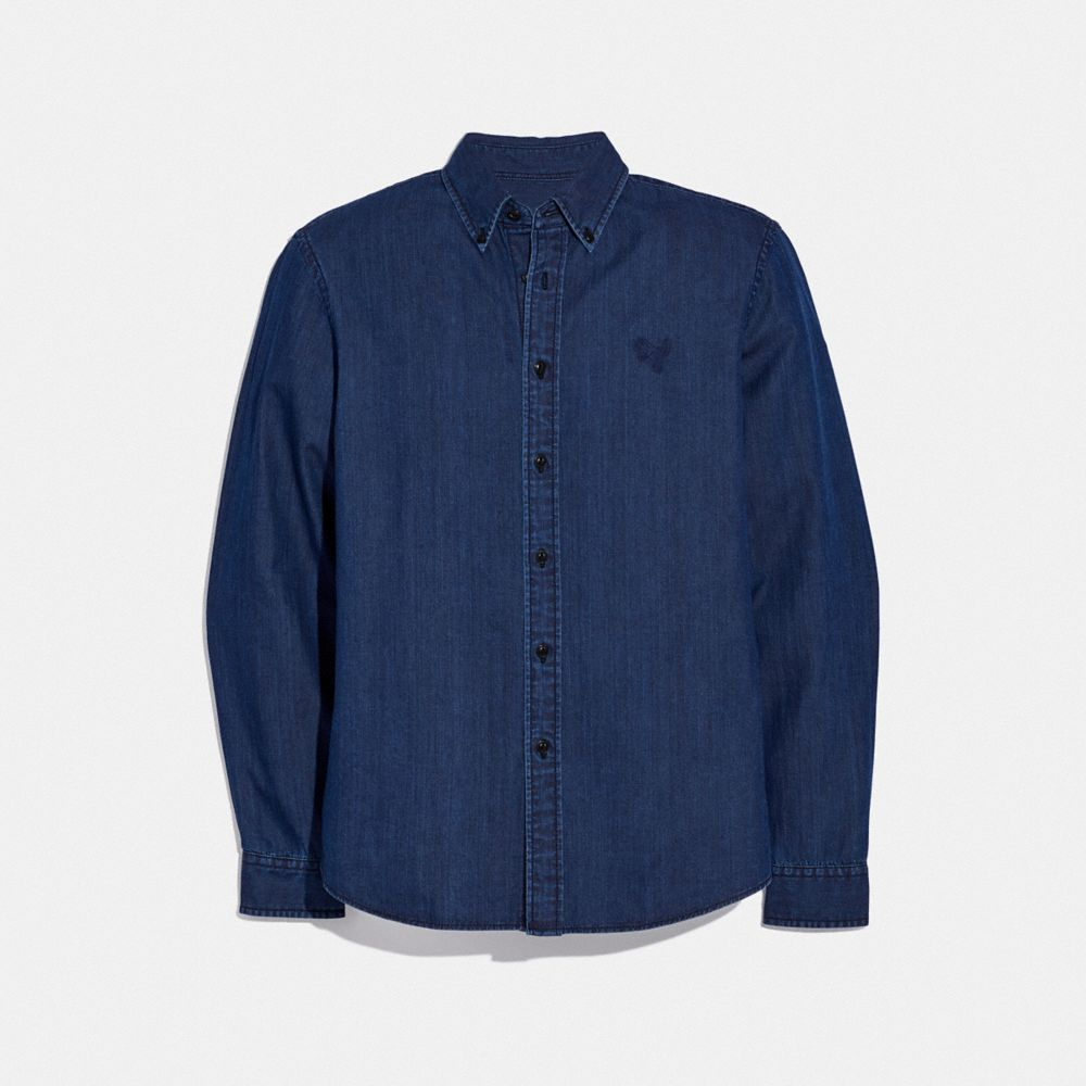 REXY PATCH DENIM SHIRT
