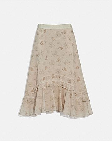 DISNEY X COACH LONG TIERED SKIRT