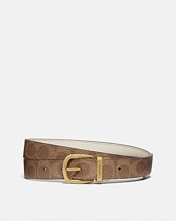 CLASSIC REVERSIBLE BELT IN SIGNATURE CANVAS