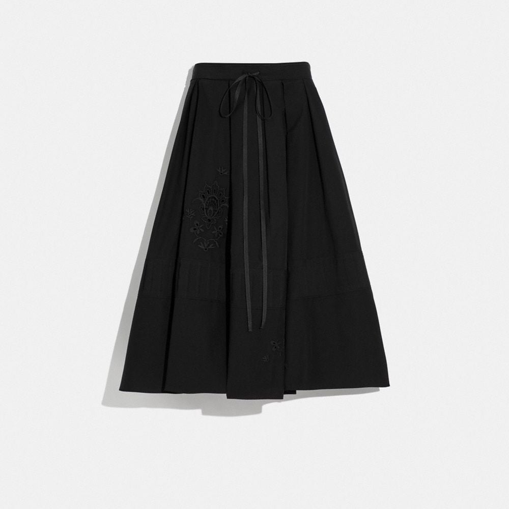 COTTON PRAIRIE SHORT DIRNDL SKIRT