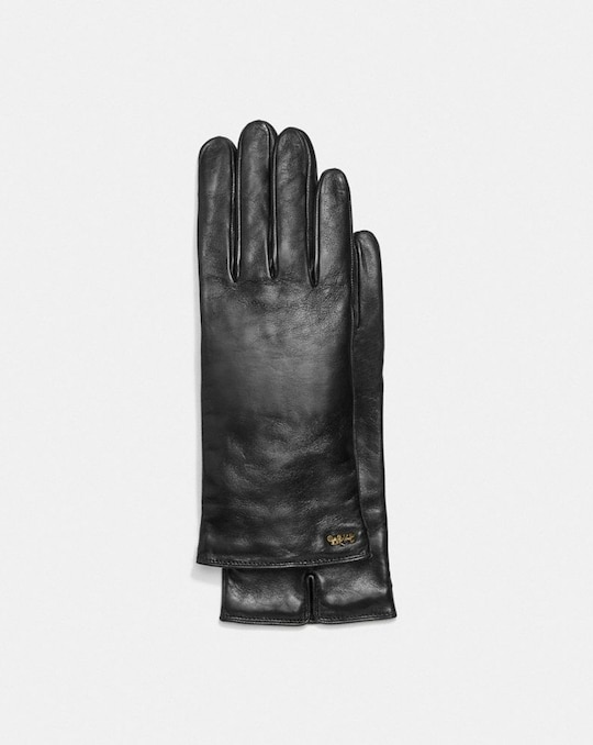 HORSE AND CARRIAGE LEATHER TECH GLOVES