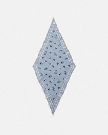 MEADOW PRAIRIE PRINT SILK DIAMOND