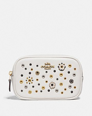 BELT BAG WITH SCATTERED RIVETS