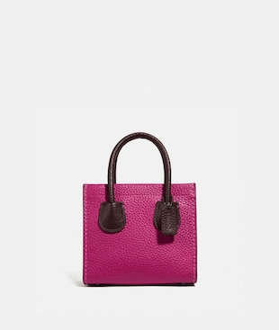 BOLSO TOTE CASHIN CARRY 14 CON BLOQUES DE COLOR