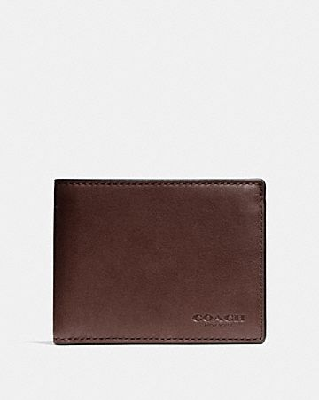 Men S Leather Wallets Coach