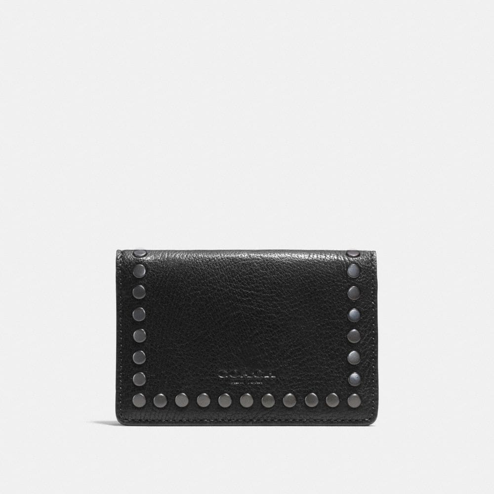 CARD WALLET WITH STUDS