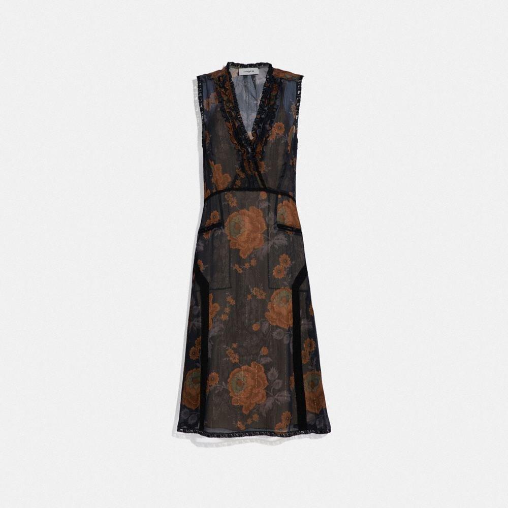 LUREX MILITARY DRESS
