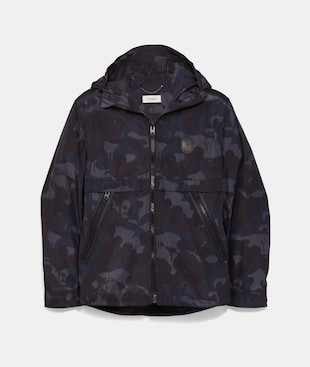 PRINTED WINDBREAKER