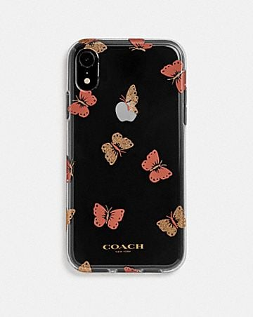 CUSTODIA PER IPHONE XR CON FARFALLE
