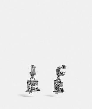 TRIPLE HOOP EARRINGS BY GUANG YU