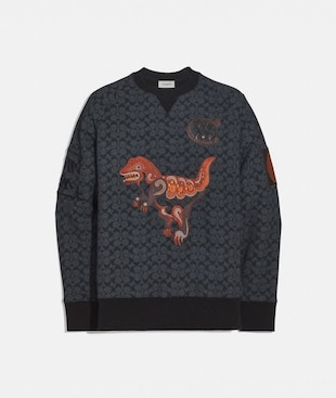 REXY BY CREATIVE ARTISTS CREWNECK SWEATSHIRT