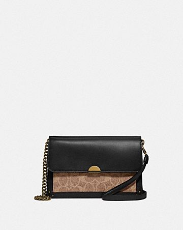 SAC BANDOULIÈRE DREAMER CONVERTIBLE EN TOILE EXCLUSIVE COLOR BLOCK
