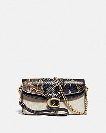TABBY CROSSBODY WITH SNAKESKIN DETAIL