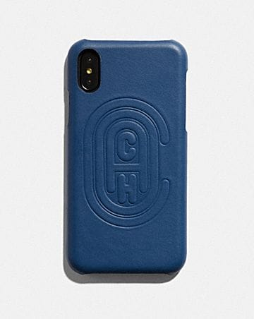 FUNDA X/XS PARA IPHONE CON PARCHE DE COACH
