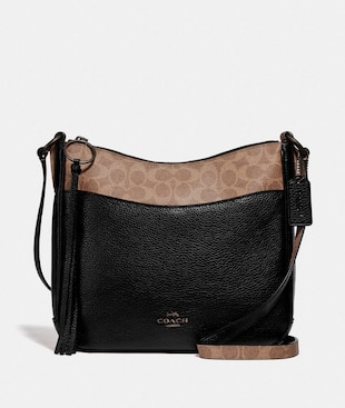 CHAISE CROSSBODY WITH SIGNATURE CANVAS BLOCKING