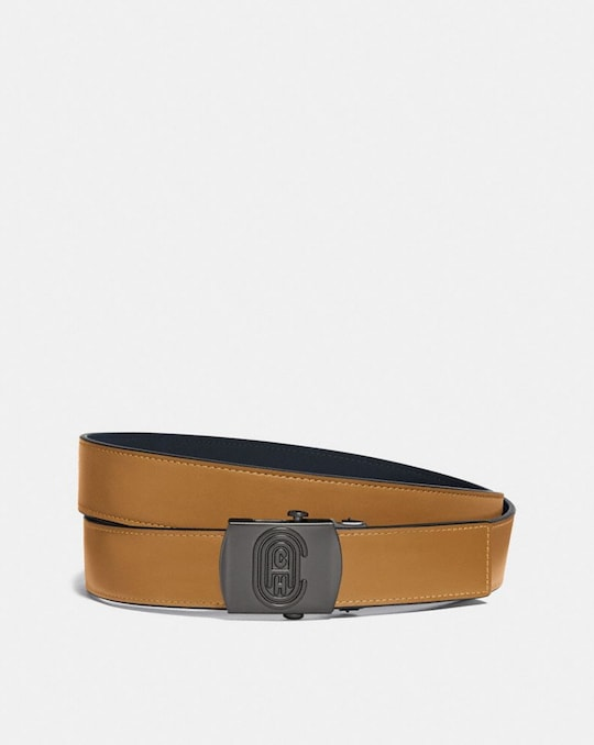 PLAQUE BUCKLE BELT, 32MM