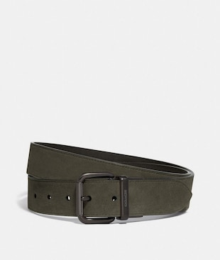 HARNESS BUCKLE CUT-TO-SIZE BELT, 38MM