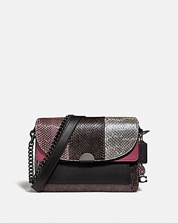 DREAMER SHOULDER BAG IN SNAKESKIN