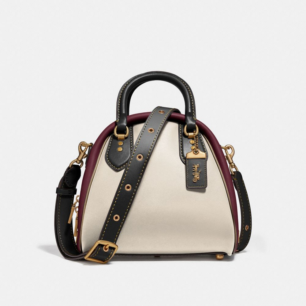 MARLEIGH SATCHEL IN COLORBLOCK