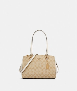 ETTA CARRYALL IN SIGNATURE CANVAS