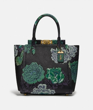 TROUPE TOTE WITH KAFFE FASSETT PRINT