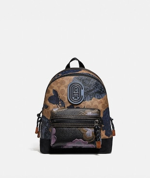 ACADEMY BACKPACK 23 IN SIGNATURE CANVAS WITH KAFFE FASSETT PRINT